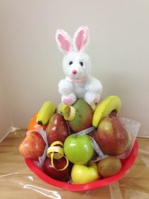 fruit with bunny
