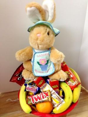 gift basket easter bunny