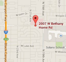 Map - 2007 W. Bethany Home Road, Phoenix, AZ