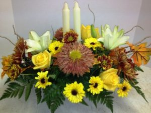 fall center piece