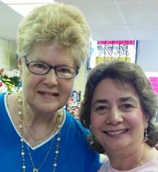 Pamela Smith and Tina Ashburn at Roadrunner Florist