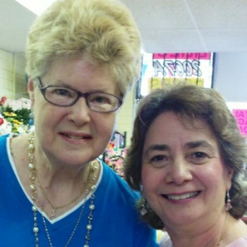 Pamela Smith and Tina Ashburn at Roadrunner Florist