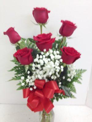 6 roses anniversary