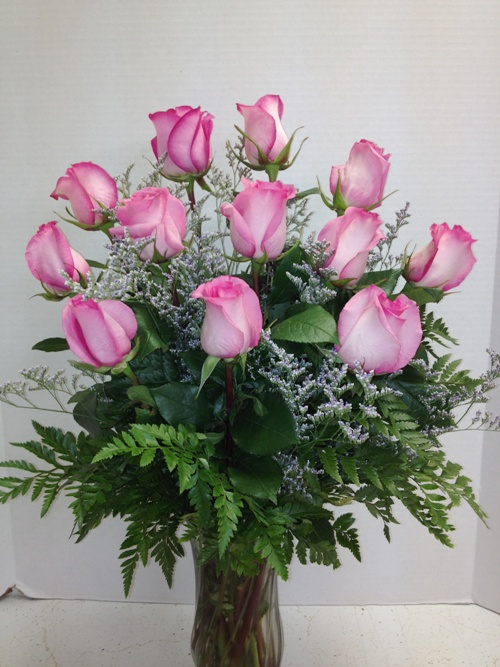pink roses with limon
