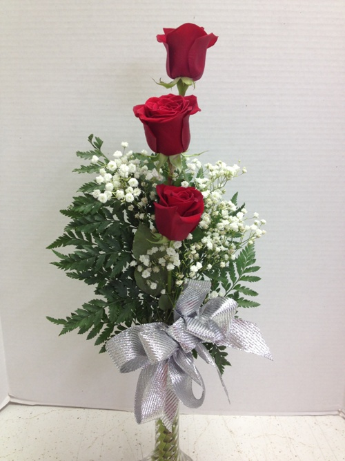 Truly beautiful 6 red roses