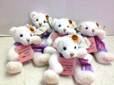 "<img src=""image.gif"" alt=""These are Chocolate Bears Stuffed Animals"" />"