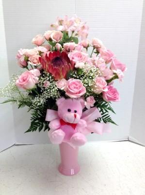 """<img src=""""image.gif"""" alt=""""Baby Girl Flowers"""" />"""