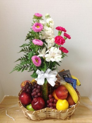 "<img src=""image.gif"" alt=""Basket of Fruit and Flowers"" />"