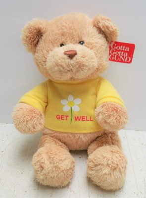Bee well soon teddy bear