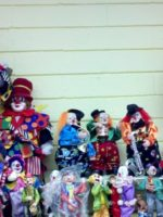 clown section