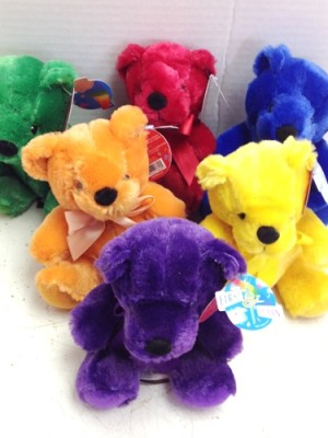 rainbow of bears