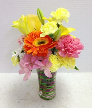 sassy and bright flowers