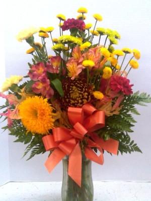 Autumn flowers medium