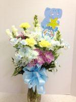 baby boy flowers