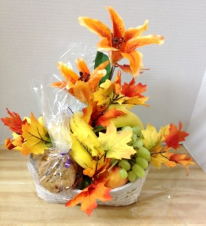 fall fruit basket
