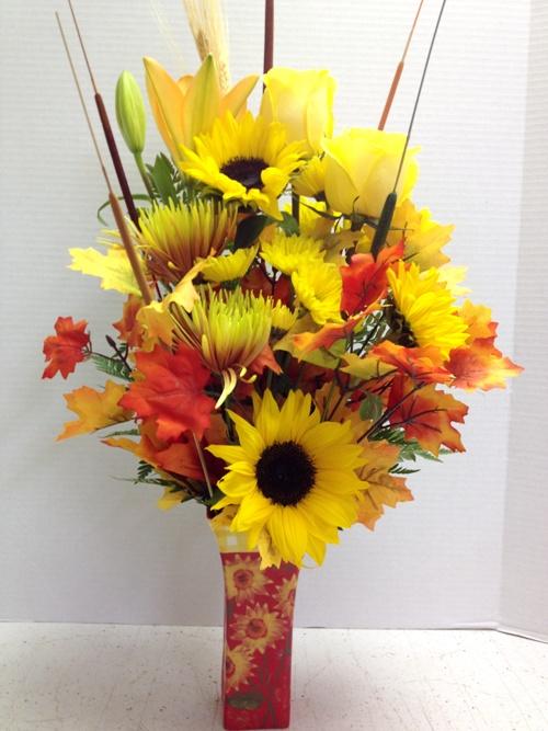 fall fun flowers