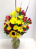 fun and fall flowers