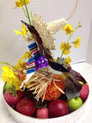 roadrunner fruit and flowers
