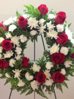 wreath without lilies