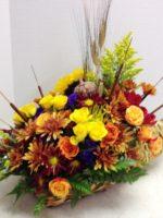 cornucopia fall display