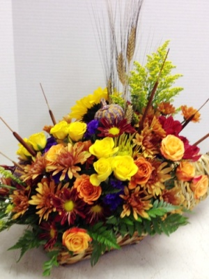 cornucopia fall display