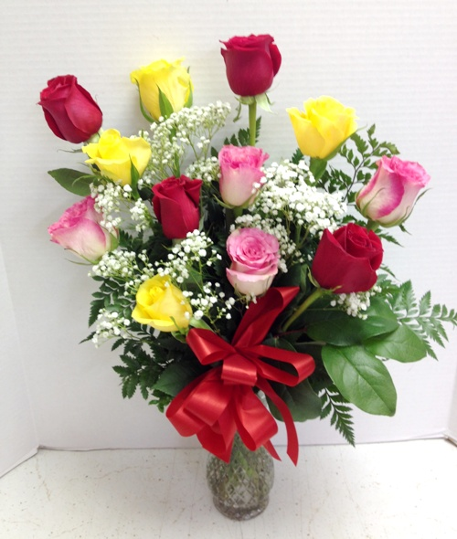 Precious colorful roses