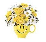 Teleflora smiley mug