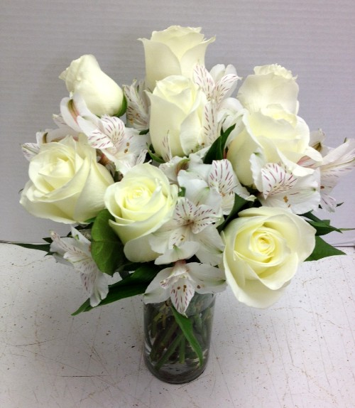 What do the color of roses mean all white roses and alstro mightylinksfo