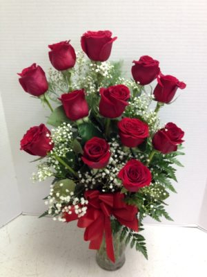 wonderful red roses