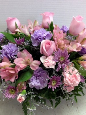 Spring Centerpiece Flowers