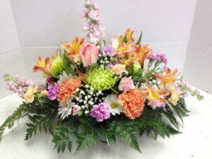 Flowers for Dinner Centerpiece