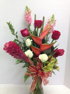 Hawaiian Sunrise Flowers