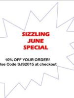 Sizzling June Special