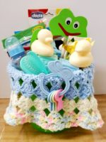 Baby boy basket for Elaine