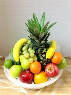Terrific fresh fruit basket