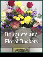 Funeral: Bouquets & Floral Baskets