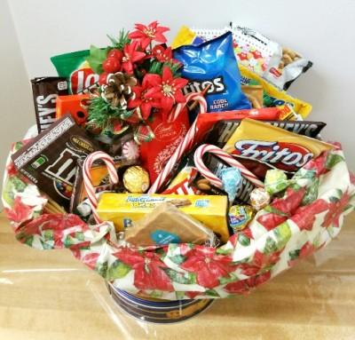 Loaded Christmas Gift Basket