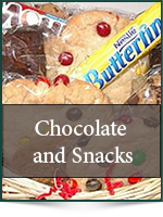 Gift Baskets: Chocolate & Snacks