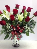Awesome Christmas Roses and Lilies