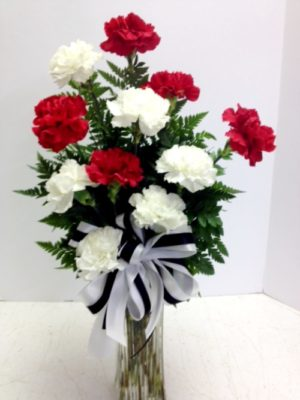 Valentine's Day Carnations