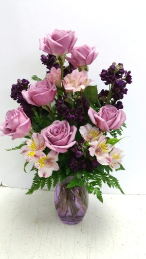 Lotsa purple