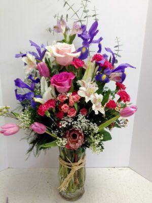 Lotsa Spring 100 149 99 Anniversary Birthday Bouquets