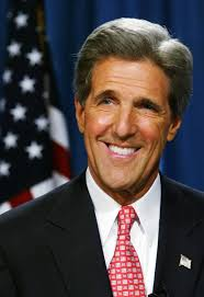 Three for Secretary Kerry
