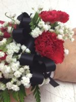 Corsage with a little color