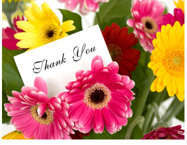 Image result for images to thank you flower
