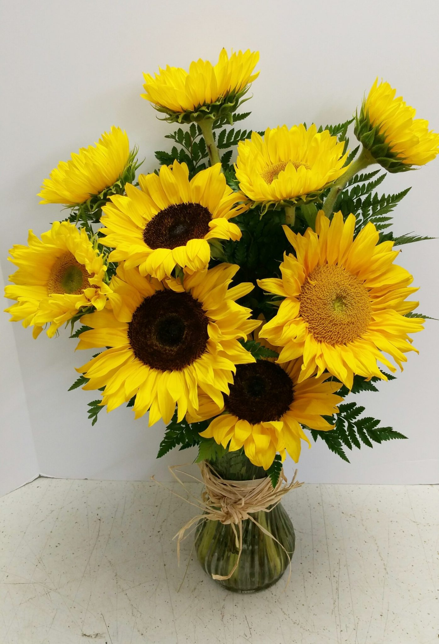 Funeral Sunflowers