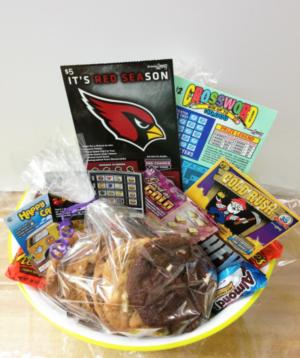 Arizona Lottery Gift Basket