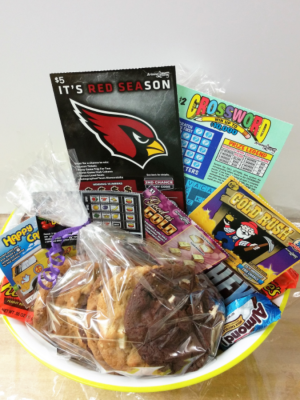 Arizona Lottery Gift Basket