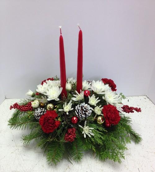 Centerpiece for christmas florist phoenix flower