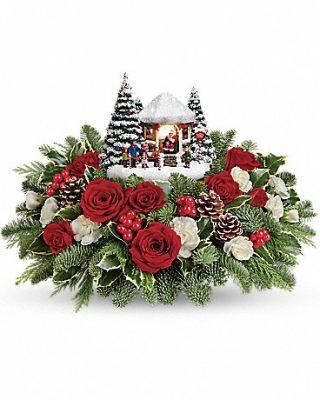 Christmas Santa Kinkade 2016